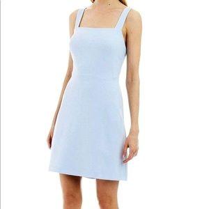 Nicole Miller Bow-Back Stretch Crepe Dress